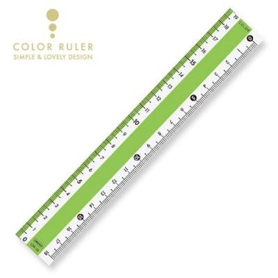 画像3: カラー直線定規18cm