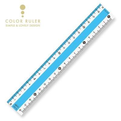 画像4: カラー直線定規18cm
