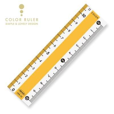 画像2: カラー直線定規10cm