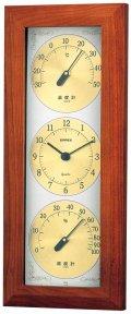 ウェザータイム温度・時計・湿度計