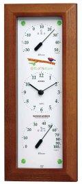 ワンダーワーカー温・湿度計・時計