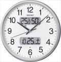 セイコー 温度・湿度計付 電波時計 KX383S