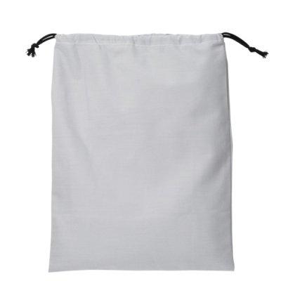 画像2: コットン巾着バッグ(L)
