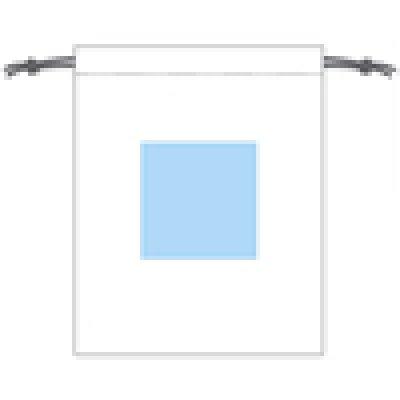 コットン巾着バッグ(L) シルク印刷