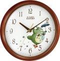 リズム時計製 掛時計「トトロM27」