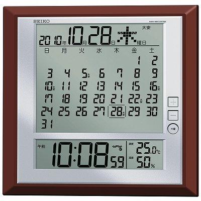 セイコークロック 電波置掛兼用時計 SQ421B