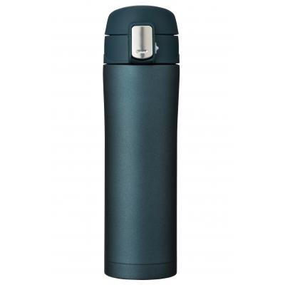 ワンプッシュ真空ステンレスボトル450ml(ネイビー)
