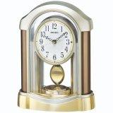 セイコークロック 電波置時計 スタンダード スイープセコンド 飾振り子付