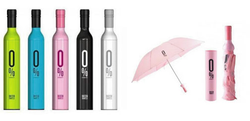 ワインボトル折りたたみ傘!リピート多発!